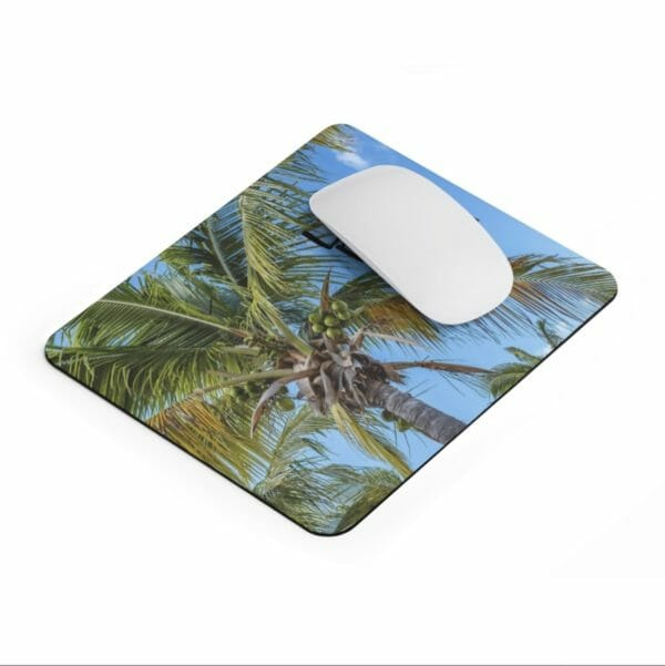 Life Is Better At The Beach Mousepad - JustArtisan - Compass and a Camera -