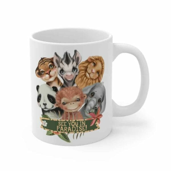 Jw Mug | See You In Paradise! A Jw Gift Idea For Coffee, Tea or Hot Choloate Drinkers | Best Life Ever - JustArtisan - JW Printable Gifts -