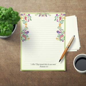 JW Letter Writing Paper SPANISH Perfect for Self Isolation. This is an DIY Instant Download Jw Gift Colorful, jw spanish, jw gift, jw org - JustArtisan - JW Printable Gifts -