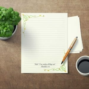 JW Letter Writing Paper Perfect for Self Isolation. This is an DIY Instant Download JW Gift Daffodil, jw gift, jw org, jw present, pioneer - JustArtisan - JW Printable Gifts -