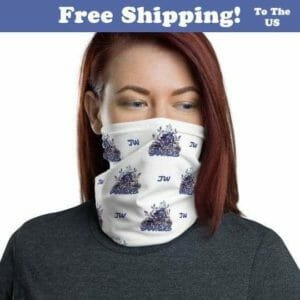 Jehovah Witness Face Mask | Neck Buff JW Gift, jw org, jw ministry, jw accessories - JustArtisan - JW Printable Gifts -