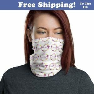 Jehovah Witness Face Mask | Neck Buff JW Gift White, jw.org, jw ministry, jw accessories - JustArtisan - JW Printable Gifts -