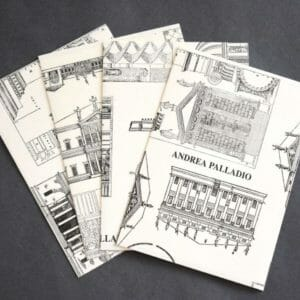 Italian Architecture Drawing Note Card Set, Stationery Set - JustArtisan - Queen B Papercrafts -