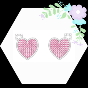 Heart Freestanding Lace Charm FSL .pes - JustArtisan - mousydesigns -