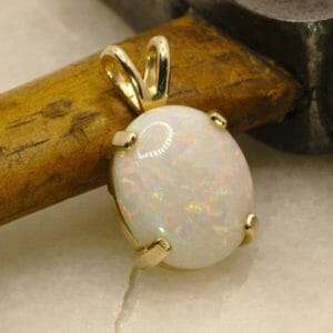 Grand Opal and Gold Necklae - JustArtisan - Mat's Machinations -