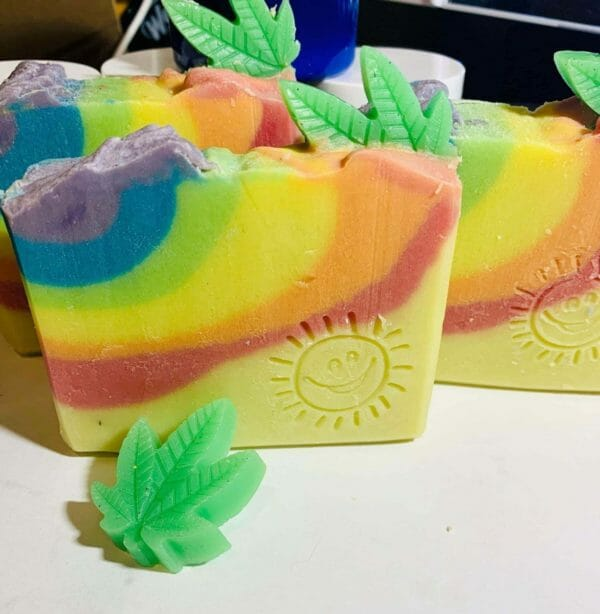 Coconut Lime and Hemp natural soap - JustArtisan - Wise Lyon Soapworks -