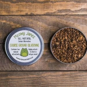Coarse Ground Silvervine | Silvervine for Cats - All Natural Catnip Alternative | Cat Toy Cat Treat | Unique Gift for Cat Lovers Meowy Janes - JustArtisan - Meowy Janes -