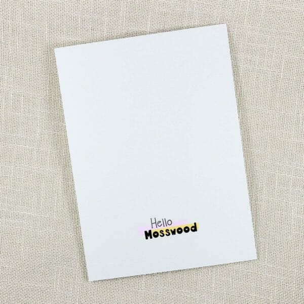 Christmas Thyme Is Here Funny Pun Christmas Card - JustArtisan - Hello Mosswood -