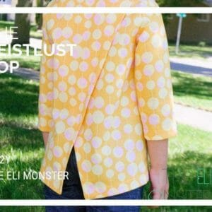 Child Top PDF Sewing Pattern, The Reislust Top Sized 2 to 12y - JustArtisan - The Eli Monster -