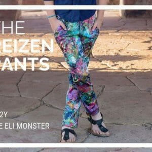 Child Pants PDF Sewing Pattern, The Reizen Pants Sized 2y to 12y - JustArtisan - The Eli Monster -