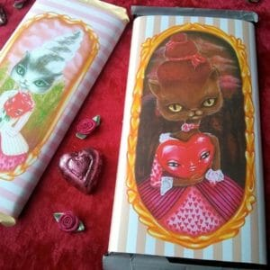 Aristocrat Cats Candy Bar Wrappers based on original paintings - JustArtisan - AGblend13 -